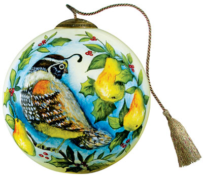 Partridge In A Pear Tree Ornament Ne'qwa Art ...
